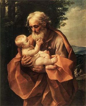 'Saint Joseph with the Infant Jesus',  c 1635, Guido Reni