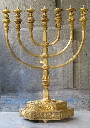 'Replica of the Temple menorah', 2007, ariely