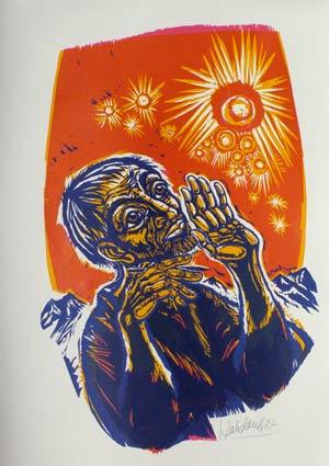 'Der Ssher', 1987 - Walter Habdank. © Galerie Habdank