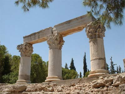 'Columns at Corinth', 2005, Michael Condouris