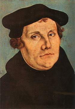 'Martin Luther', 1529, Lucas Cranach der Ältere