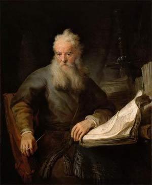'Apostle Paul', 1633 (?), Rembrandt van Rijn