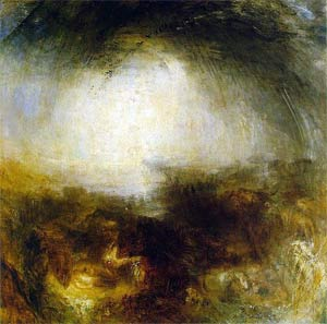 'Shade and Darkness - the Evening of the Deluge', 1843, Joseph Mallord William Turner