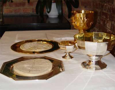 'Préparation des dons pour l'eucharistie', 2006, Waelsch