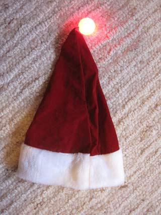 'Weihnachtsmannmütze', 2010, PSch