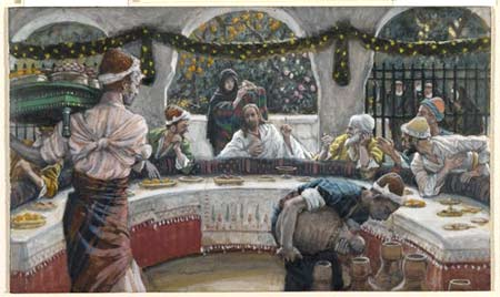 'The Meal in the House of the Pharisee', between 1886(1886) and 1894,  James Joseph Jacques Tissot