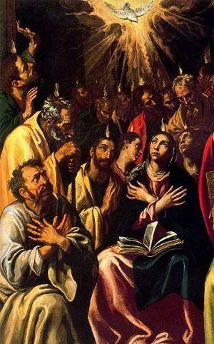 'Pentecostes', Luis Tristán, 17. Jhd.