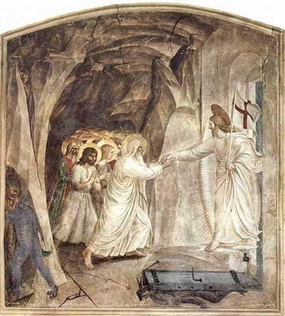 'Höllenfahrt Christi', um 1437-1446, Fra Angelico