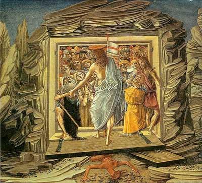 'Descent into limbo', 1491, Benvenuto di Giovanni
