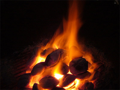 'A coal and fire', 2006, snty-tact
