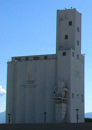 'Welfare Square grain silo', 2006, Ricardo630