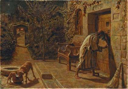 'The Importunate Neighbour', 1895, William Holman Hunt