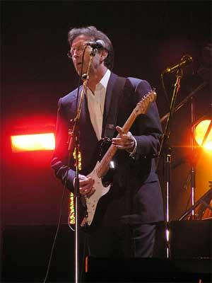 'Eric Clapton at the Tsunami Relief concert in Cardiff's Millennium Stadium', 2005, Yummifruitbat