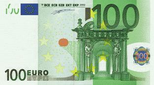 'Billet de 100 Euros', 2009, Robert Kalina