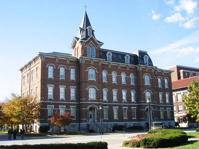 'University Hall in Purdue University ', Abhijitsathe, 2009