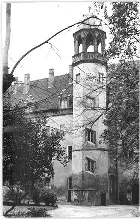 'Wittenberg, Lutherhaus', Hans-Günter Quaschinsky, 1952