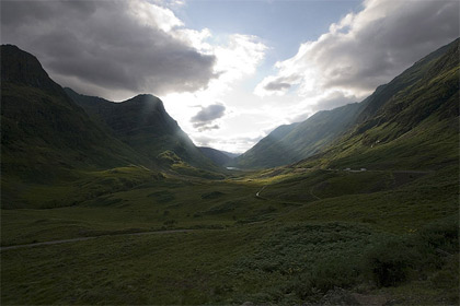 'Glen Coe. Scotland', 2007, aesopus