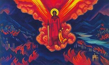 'Last Angel', Nicholas Roerich, 1942