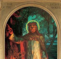 'The Light of the World' (Das Licht der Welt), Holman Hunt, St. Paul's Cathedral, London, Photo von Peter Smith