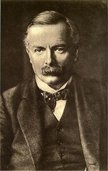 'David Lloyd George, British prime minister 1916-1922.' 1915,  Photo by A. & R. Annan & Sons