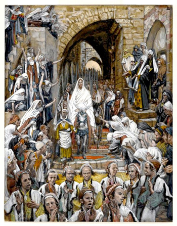 'The Procession in the Streets of Jerusalem', between 1886 and 1894, James Joseph Jacques Tissot