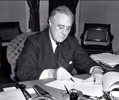 'President Franklin D. Roosevelt', photographs 1940 prints 1940, Associated Press photograph. No. 21773