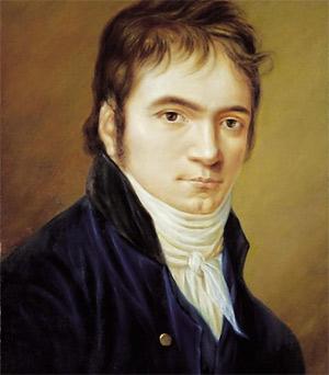 'Ludwig van Beethoven in 1803', 1803, Christian Hornemann