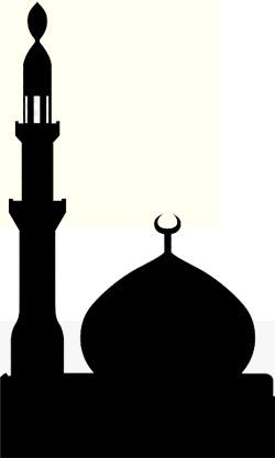 'Silueta d'una mezquita, templo d'o Islam', 2007, MesserWoland