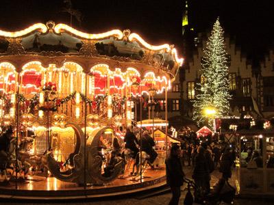 'Weihnachtsmarkt in Frankfurt am Main', 2009, PSch