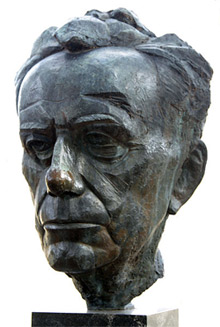 'Bust of Paul Johannes Tillich by James Rosati in New Harmony, Indiana, U.S.A.', 2008, Richard Keeling