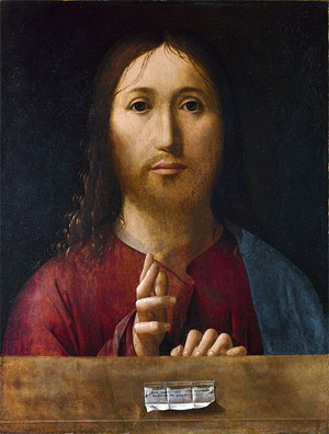 'Christ Blessing', 1465, The Yorck Project