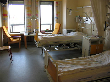 'a hospital room', 2005, Tomasz Sienicki