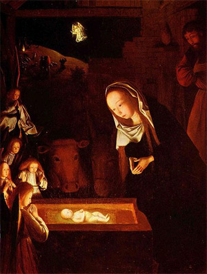 'Geburt Christi', Geertgen tot Sint Jans, um 1490