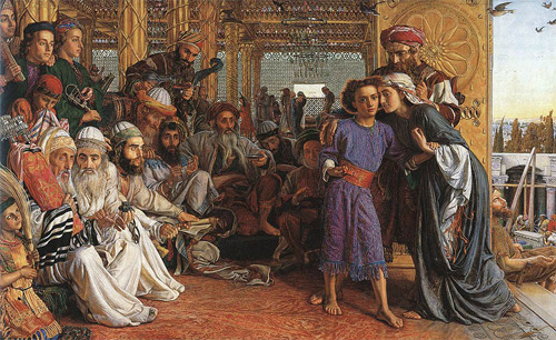 'The Finding of the Saviour in the Temple', William Holman Hunt, 1860