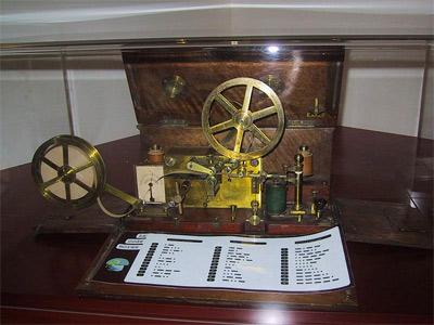'Morse Telegraph (1837)', 2008, Zubro