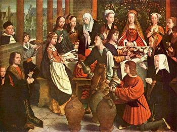 'Hochzeit zu Kana', um 1500-1510, Musée du Louvre.