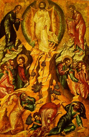 'Die Verklärung Jesu' - Ikonen-Museum Recklinghausen