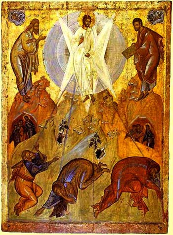 'The Transfiguration', Early 15th century, Theophanes the Greek