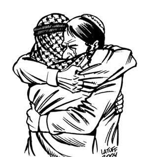 'Forgiveness', Carlos Latuff, Liftarn , 2007