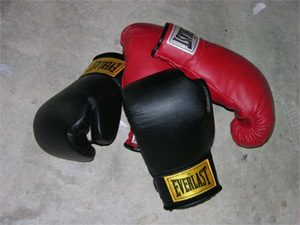 'Boxing gloves', 2006,  en:User:Andman8
