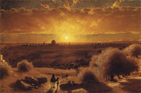 'View of Jerusalem', before 1904,  James Fairman
