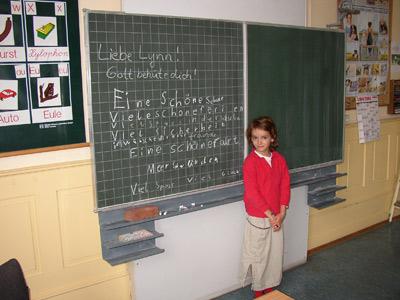 'Segenswünsche für eine Mirschülerin', Silke Alves-Christe