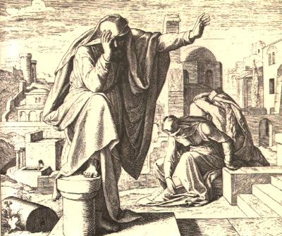 Holzschnitt aus 'Die Bibel in Bildern', 1860, Julius Schnorr von Carolsfeld