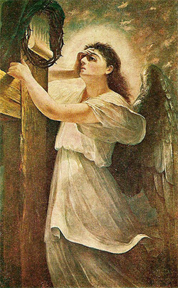 'Lamenting Angel', 1988, Kosta Khetagurov