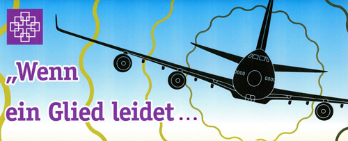 'Grafik gegen den Fluglärm' 2012, Marsel Djendjo