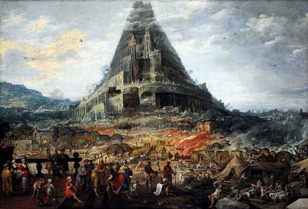 'La tour de Babel', 1564-1635, Joos De Momper II