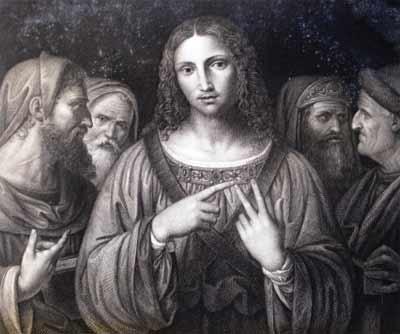 'Jesus among the doctors in the Temple', 2009, Phillip Medhurst