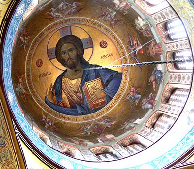 Thessaloniki, Verklärungs-Kirche. Fingalo - 15.06.2007.