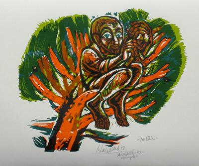 'Zachäus', 1978 - Walter Habdank. © Galerie Habdank