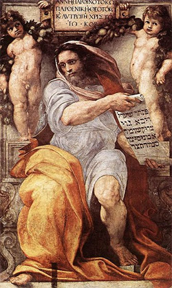 'The Prophet Isaiah', 1511-1512, Raffaello Sanzio